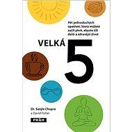 Velká 5: Pět jednoduchých opatření, která můžete začít plnit, abyste žili delší a zdravěj - Kniha