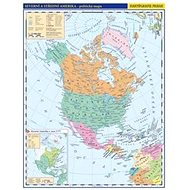 Severní a Střední Amerika příruční politická mapa: 1 : 33 000 000 - Kniha