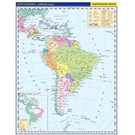 Jižní Amerika Obecně příruční politická mapa: 1 : 33 000 000 - Kniha