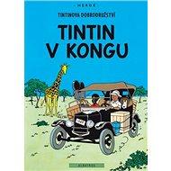Tintin v Kongu - Kniha