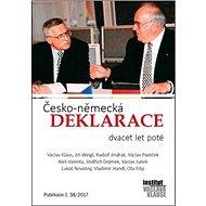 Česko-německá deklarace: Dvacet let poté - Kniha