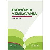 Ekonómia vzdelávania - Kniha