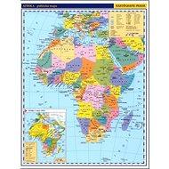 Afrika příruční politická mapa - Kniha