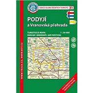 KČT 81 Podýjí a Vranovská přehrada 8. vydání - Kniha
