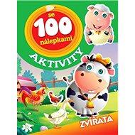 Aktivity se 100 nálepkami Zvířatá - Kniha