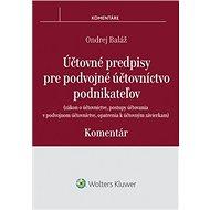 Účtovné predpisy pre podvojné účtovníctvo podnikateľov - Kniha