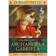 Vykládací karty archanděla Gabriela: kniha a 44 karet - Kniha