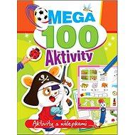 Mega 100 aktivity Pirát: Aktivity s nálepkami - Kniha