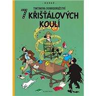 Tintin 7 křišťálových koulí - Kniha