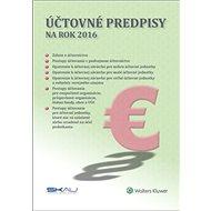 Účtovné predpisy na rok 2016 - Kniha