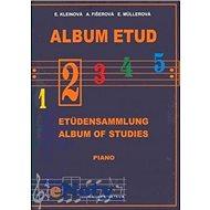 Album etud II - Kniha