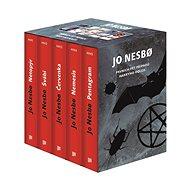 JO NESBO Prvních pět případů Harryho Holea BOX: Netopýr, Švábi, Červenka, Nemesis, Pentagram - Kniha