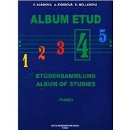 Album etud IV - Kniha