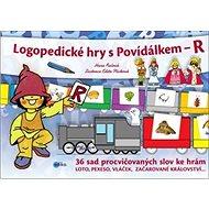 Logopedické hry s Povídálkem - R: 36 sad procvičovaných slov ke hrám - Kniha