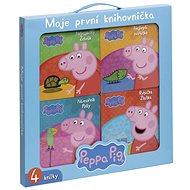 Peppa Pig Moje první knihovnička Rybička Zlatka, Námořník Polly, Nebojácný Želvák,Nejlepší zvířátko - Kniha