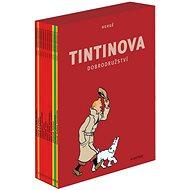 Tintinova dobrodružství 1-12 BOX - Kniha