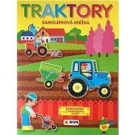 Traktory samolepková knížka - Kniha