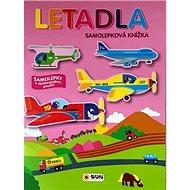 Letadla samolepková knížka - Kniha