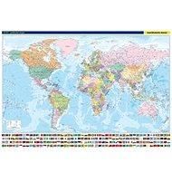 Svět nástěnná politická mapa: 1 : 22 000 000 - Kniha