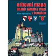Erbovní mapa hradů, zámků a tvrzí v Čechách 8 - Kniha