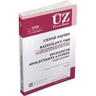 ÚZ 1222 Cenné papíry, Kapitálový trh, Investiční společnosti a fondy: Komoditní burzy, podle stavu k - Kniha