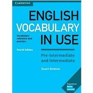 Kniha English Vocabulary in Use: Pre-intermediate and Intermediate with answers - Kniha
