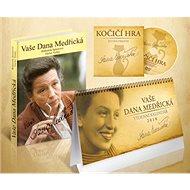 Komplet 3ks Vaše Dana Medřická + DVD + kalendář 2018 - Kniha