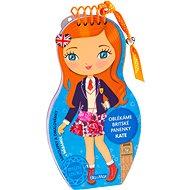Oblékáme britské panenky Kate - Kniha
