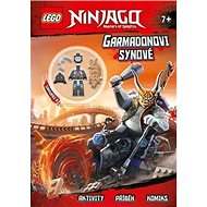 LEGO NINJAGO Garmadonovi synové: Aktivity, příběhy, komiks, minifigurka - Kniha