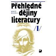 Přehledné dějiny literatury I - Kniha