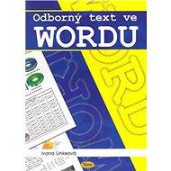 Odborný text ve Wordu - Kniha