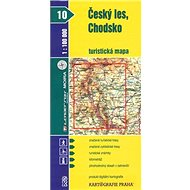 Český les, Chodsko  turistická mapa 1:100 000: 10 - Kniha
