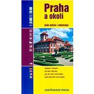 Praha a okolí 1:20 000/1:150 000: plán měst, automapa - Kniha