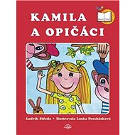 Kamila a opičáci - Kniha