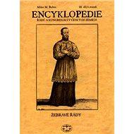 Encyklopedie řádů a kongregací III.díl: Žebravé řády 1. svazek - Kniha