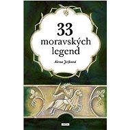 33 moravských legend - Kniha