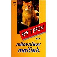 499 tipov pre milovníkov mačiek - Kniha
