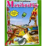 Maxihrátky Cesta za pokladem: Samolepky k opakovanému použití - Kniha