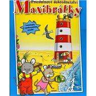 Maxihrátky Prázdninové dobrodružství: Samolepky k opakovanému použití - Kniha