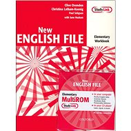 New English file elementary Workbook Key + CD ROM pack - Kniha
