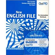 New English file Pre-intermediate Workbook + CD ROM pack - Kniha