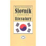 Slovník korejské literatury - Kniha