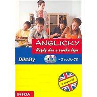Diktáty + 2 audio CD - Kniha