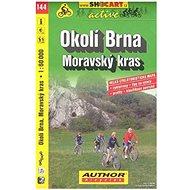 Okolí Brna Moravský kras 1:60 000: 144 cykloturistická m. - Kniha