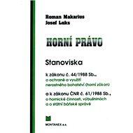 Horní právo: Stanoviska - Kniha
