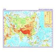 Asie Obecně zeměpisná mapa: 1:42 000 000 - Kniha