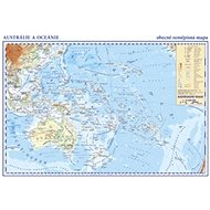 Austrálie a Oceánie: laminátový separát 1:42 000 000 - Kniha