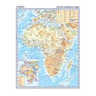 Afrika Obecně zeměpisná mapa: 1:33 000 000 - Kniha
