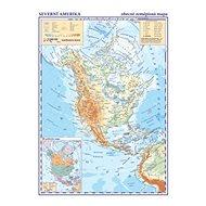 Severní a Střední Amerika Obecně zeměpisná mapa: 1:33 000 000 - Kniha