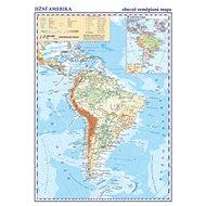 Jižní Amerika Obecně zeměpisná mapa - Kniha